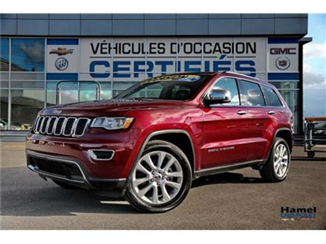 2017 JEEP Grand Cherokee TOIT OUVRANT+NAVIGATION+CUIR+ JANTES 20 in Montreal, Quebec