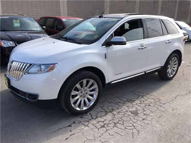 2013 LINCOLN MKX Limited, Navigation, Leather, Sunroof, AWD in Burlington, Ontario