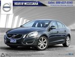 2013 Volvo S60 T6 AWD A LEASE RETURN, DEALER SERVICED, 1-888-792- in Mississauga, Ontario