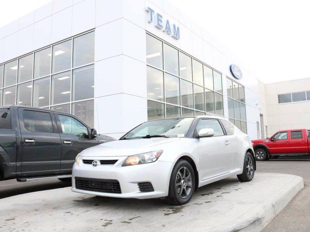 2012 SCION TC TC, ACCIDENT FREE, BLUETOOTH, SUNROOF, KEYLESS ENTRY, CRUISE, LTHER, FWD in Edmonton, Alberta