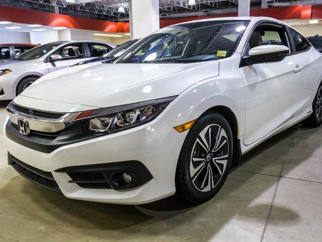2016 HONDA Civic EX-T, Honda Sensing Safety, Heated Seats, Sunroof, Touch Screen, Back Up Camera, Push Button Start, Alloy Rims, Bluetooth, Coupe in Edmonton, Alberta
