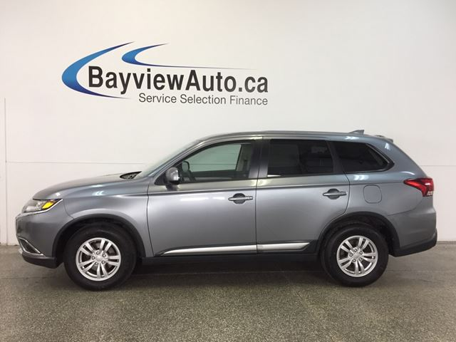 2017 MITSUBISHI OUTLANDER ES- AWD|ALLOYS|HTD STS|REV CAL|BLUETOOTH|CRUISE! in Belleville, Ontario