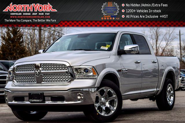 2017 DODGE RAM 1500 New Car Laramie 4x4 Crew Diesel Convenience Pkg Bedliner R_Start in Thornhill, Ontario