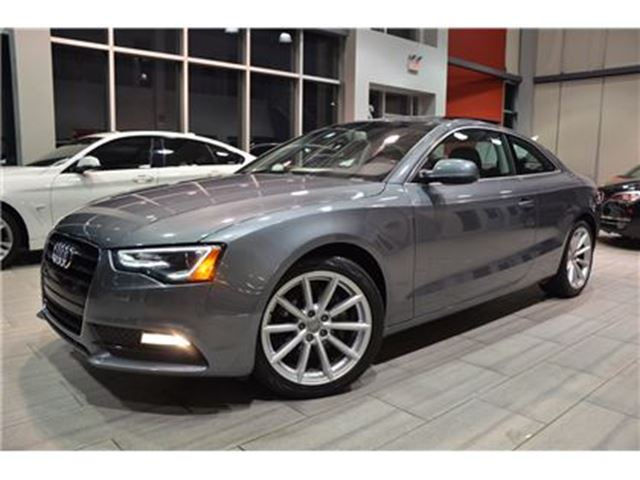 2014 AUDI A5 2.0L Progressiv 6-Speed Manual Only 47602 Kms! in Oakville, Ontario