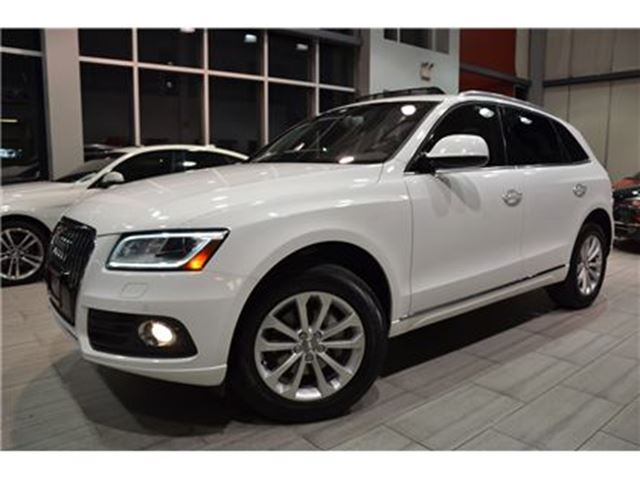 2015 AUDI Q5 2.0T Progressiv 1 Owner With 82.477 Kms! in Oakville, Ontario