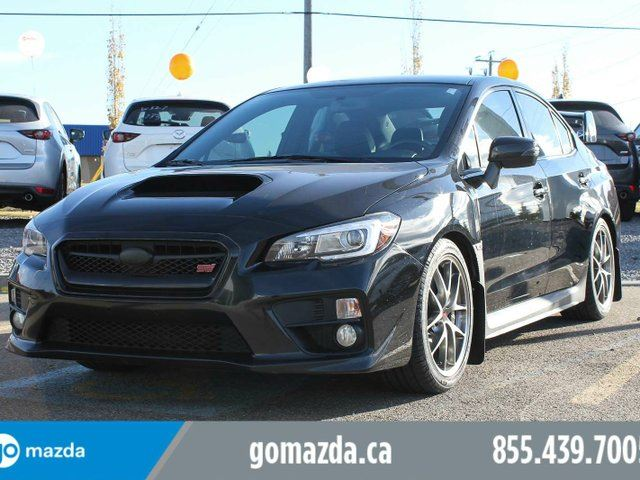 2015 SUBARU IMPREZA Sport-tech Package LEATHER SUNROOF NAVIGATION BRAND NEW TIRES ACCIDENT FREE in Edmonton, Alberta