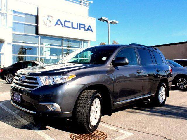 2013 TOYOTA HIGHLANDER 4WD V6 5A in Langley, British Columbia