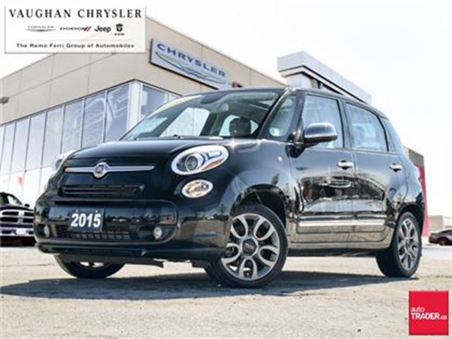 2015 FIAT 500L 1 Owner Lounge* Navigation *Pano Sunroof *Leather in Woodbridge, Ontario
