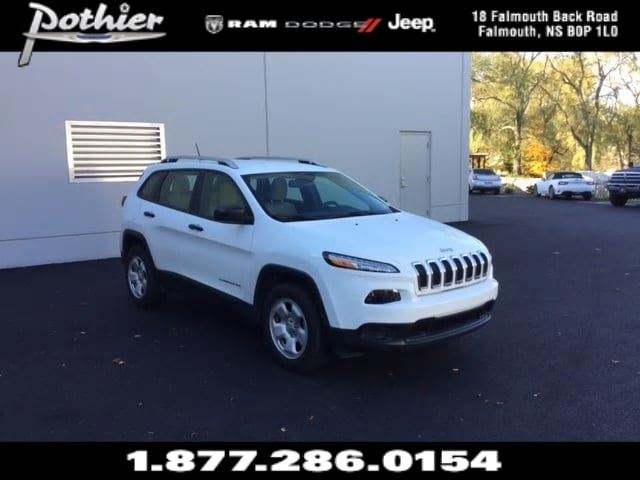 2016 Jeep Cherokee Sport 4x4  CLOTH  HEATED SEATS  HEATED MIRRORS in Windsor, Nova Scotia