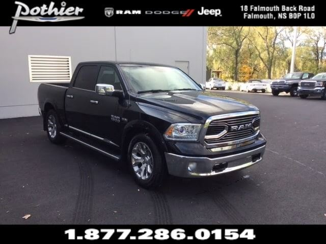 2016 Dodge RAM 1500 Longhorn  LEATHER  HEATED SEATS  BLUETOOTH  in Windsor, Nova Scotia
