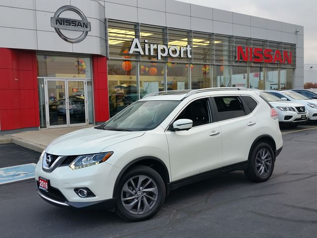 2016 NISSAN Rogue SL, LEATHER,ROOF,NAVI,ALLOY,PW,PL,ABS in Brampton, Ontario