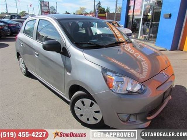 2015 MITSUBISHI MIRAGE ES   ONE OWNER   AS GOOD AS NEW in London, Ontario