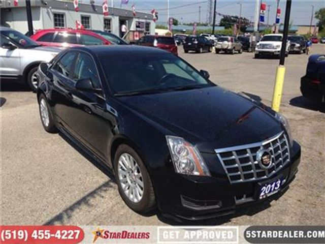 2013 CADILLAC CTS Luxury   LEATHER   HEATED SEATS   SAT RADIO in London, Ontario