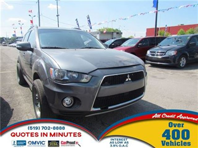 2012 MITSUBISHI OUTLANDER LS   AWD    HEATED SEATS in London, Ontario