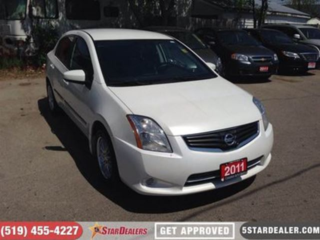 2011 NISSAN SENTRA 2.0 S   GREAT FIND   APPLY HERE in London, Ontario