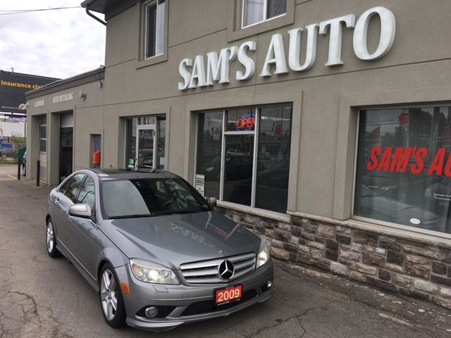 2009 mercedes benz c class 3 0l 4matic hamilton ontario for Mercedes benz ontario dealers