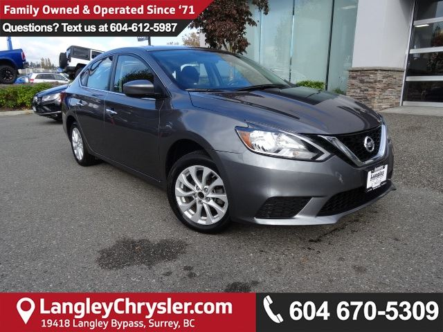 2016 NISSAN SENTRA 1.8 SV *ACCIDENT FREE*ONE OWNER*LOCAL BC CAR* in Surrey, British Columbia