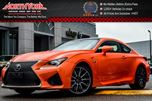 2016 Lexus RC F  Premium,Performance,Nav w/t Mark Levinson Prem.Audio Pkgs in Thornhill, Ontario