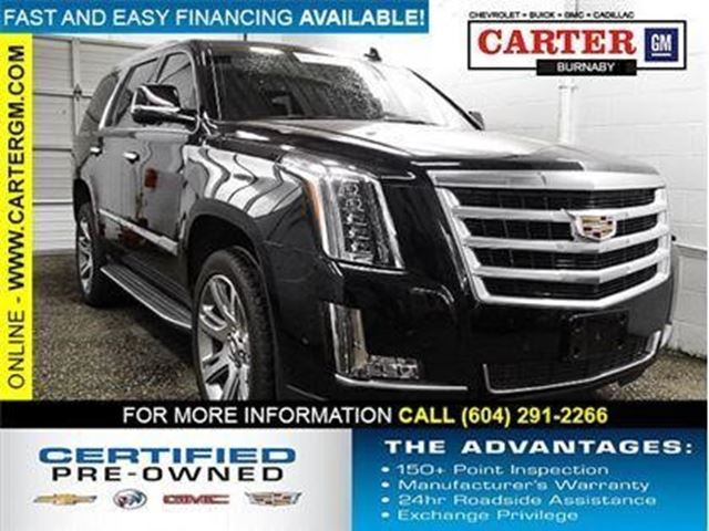 2017 CADILLAC ESCALADE Luxury in Burnaby, British Columbia