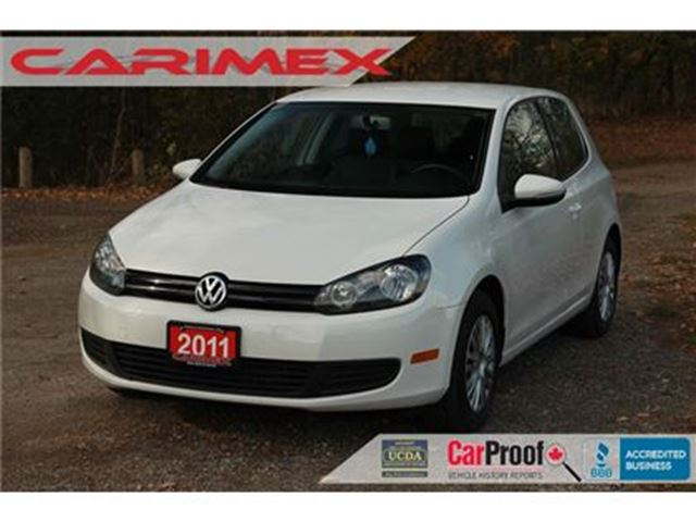 2011 VOLKSWAGEN GOLF 2.5L Trendline in Kitchener, Ontario