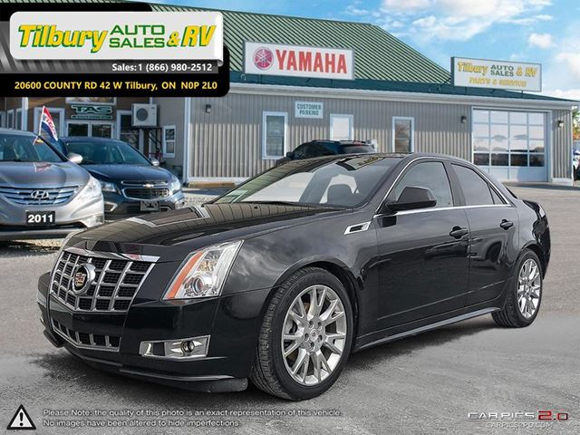 2013 CADILLAC CTS Performance Collection. LOW KMS. BOSE SOUND. in Tilbury, Ontario
