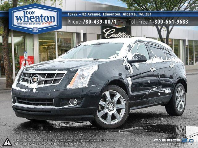 2011 CADILLAC SRX AWD BLACK ON BLACK HEATED SEATS REMOTE START in Edmonton, Alberta
