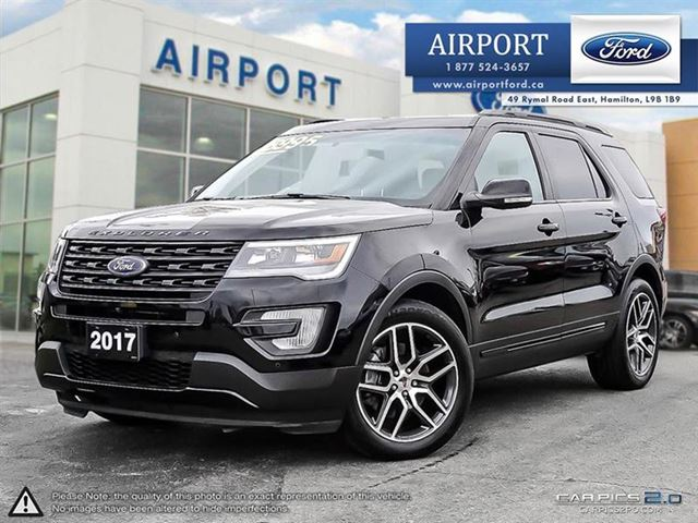 2017 FORD Explorer Sport 4WD with only 28,011 kms in Hamilton, Ontario