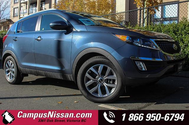 2015 KIA SPORTAGE EX wBACKUP CAMERA in Victoria, British Columbia