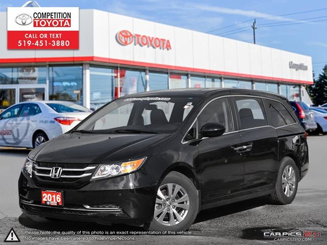2016 HONDA ODYSSEY EX-L One Owner, No Accidents in London, Ontario