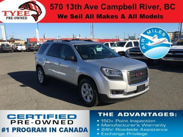 2014 GMC ACADIA SLE2 in Campbell River, British Columbia