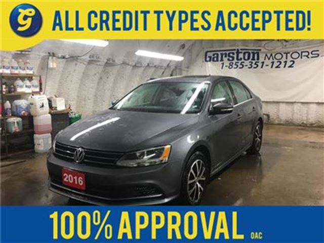 2016 VOLKSWAGEN JETTA COMFORTLINE*TSI*POWER SUNROOF*PHONE CONNECT*BACK U in Cambridge, Ontario