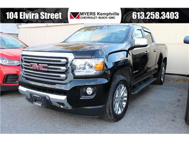 2015 GMC CANYON SLT Leather, Navigation and trailer package!!! in Kemptville, Ontario