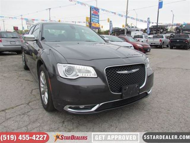 2016 CHRYSLER 300 AWD   LEATHER   HEATED SEATS   CAM in London, Ontario