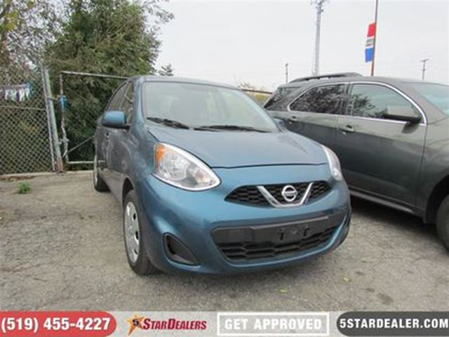 2016 NISSAN MICRA SV   ONE OWNER in London, Ontario