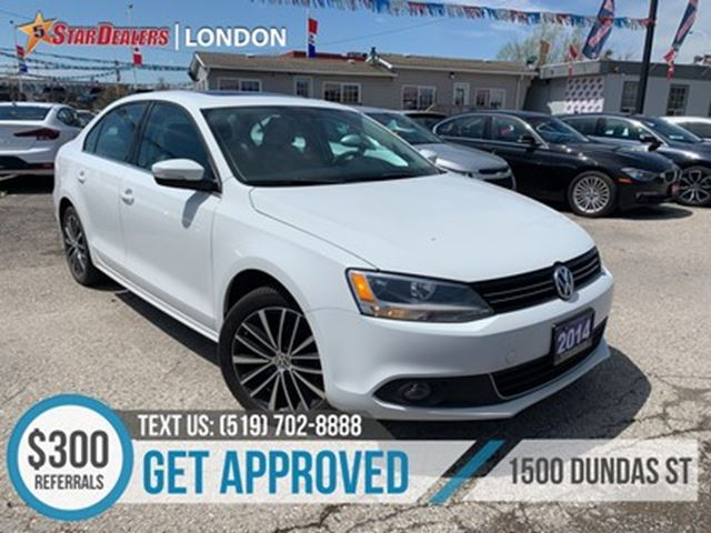 2014 VOLKSWAGEN JETTA 1.8 TSI Highline   NAV   LEATHER   ROOF in London, Ontario