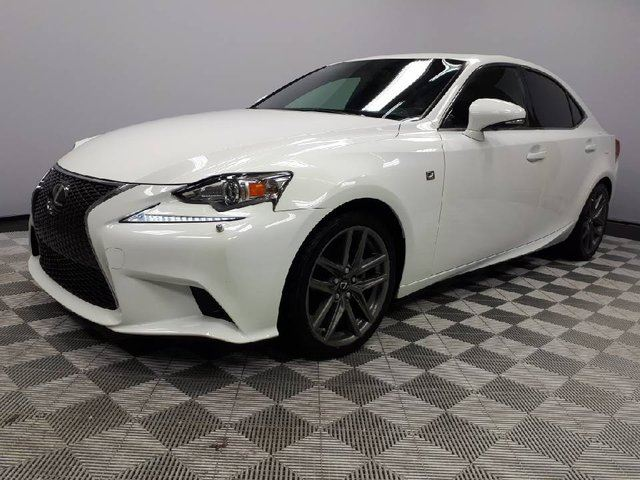 2014 LEXUS IS 250 AWD F- Sport Series 2- Local 2nd Owner Trade In | No Accidents | 3M Protection Applied | Window Tint | Navigation | Back Up Camera | Power Sunroof | Heated Front Seats | Dual Zone Climate Control with AC | Heated Steering Wheel | Bluetooth | Grey 18  in Edmonton, Alberta
