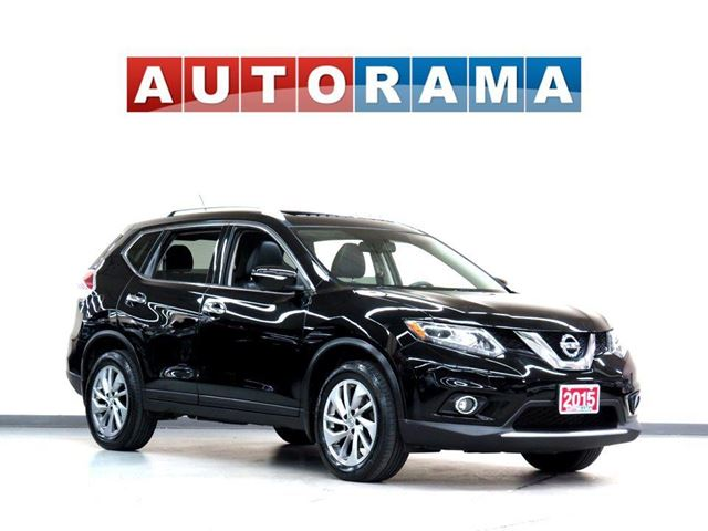 2015 NISSAN Rogue SL NAVIGATION LEATHER SUNROOF AWD BACKUP CAM in North York, Ontario