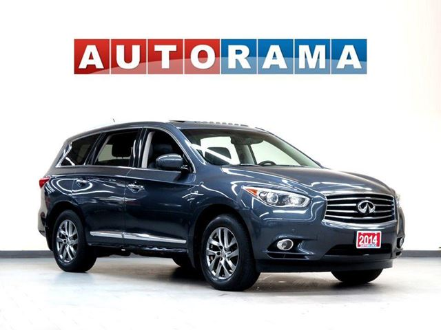 2014 INFINITI QX60 NAVIGATION LEATHER SUNROOF 4WD 7 PASS BACKUP CAM in North York, Ontario
