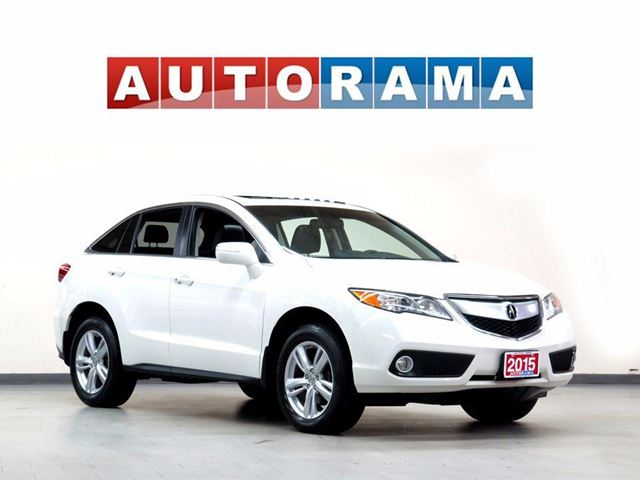 2015 ACURA RDX TECH PKG NAVIGATION LEATHER SUNROOF BACKUP CAM 4WD in North York, Ontario