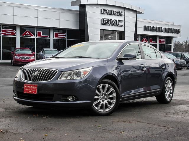 2013 Buick LaCrosse Driver Confidence ** Purchased, Serviced AND Tr in Virgil, Ontario