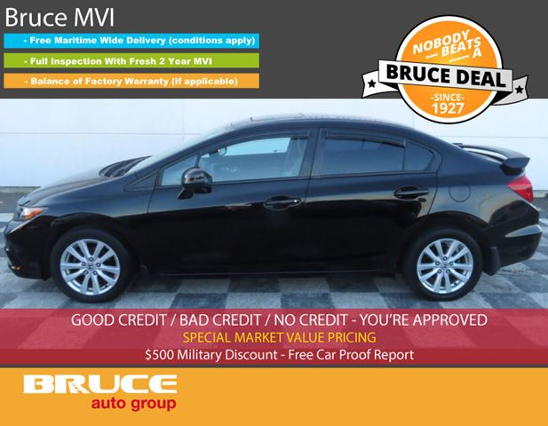 2012 Honda Civic EX 1.8L 4 CYL i-VTEC AUTOMATIC FWD 4D SEDAN in Middleton, Nova Scotia