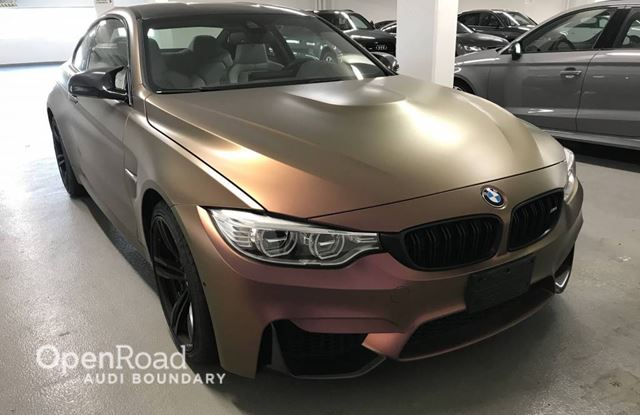 2015 BMW M4 2dr Cpe in Vancouver, British Columbia