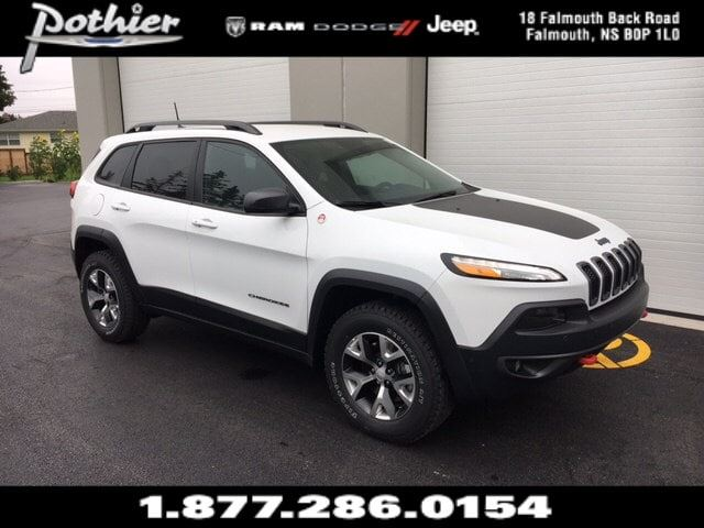 2017 Jeep Cherokee Trailhawk Leather Plus  LEATHER  HEATED SEATS  in Windsor, Nova Scotia