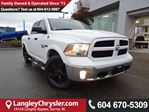 2016 Dodge RAM 1500 SLT *ACCIDENT FREE*ONE OWNER*LOCAL BC TRUCK* in Surrey, British Columbia