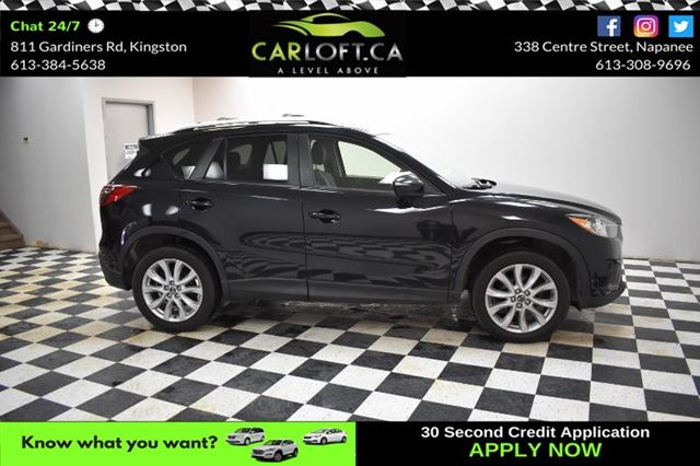 2015 MAZDA CX-5 GT- LEATHER * HEATED SEATS * BLUETOOTH in Kingston, Ontario