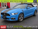 2017 Ford Mustang V6   Convertible, Cruise, Bluetooth, A/C in Ottawa, Ontario