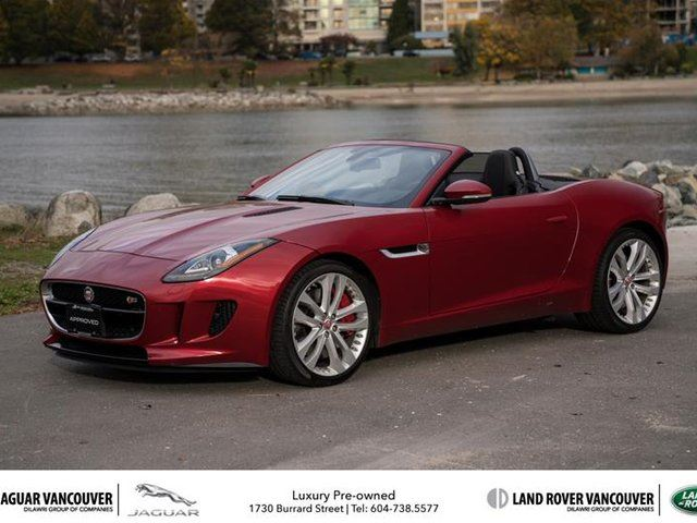 2015 JAGUAR F-TYPE Convertible S in Vancouver, British Columbia