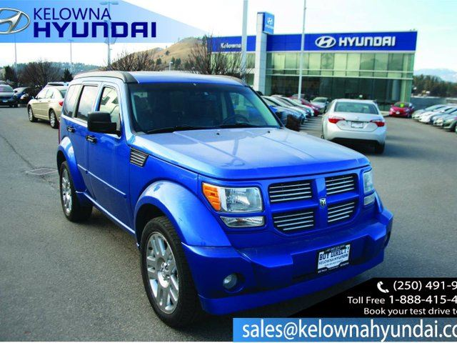 2008 DODGE NITRO SLT/RT 4dr 4x4 in Kelowna, British Columbia