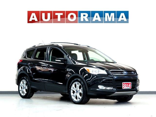 2014 FORD Escape TITANIUM PKG NAVIGATION BACKUP CAM LEATHER 4WD in North York, Ontario
