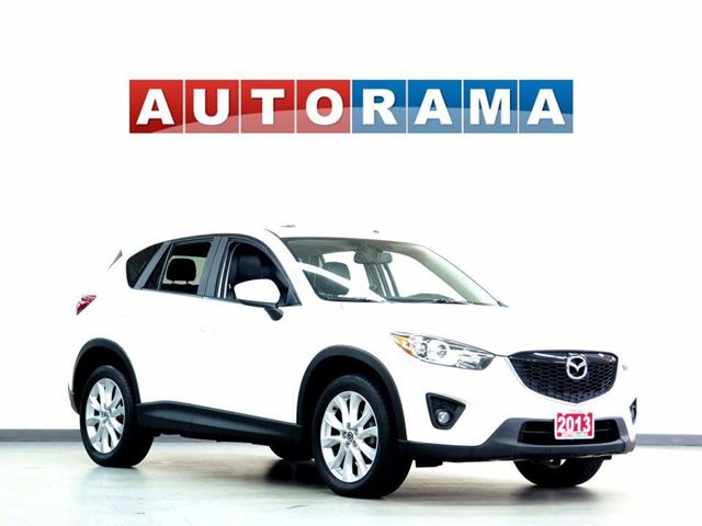 2013 MAZDA CX-5 GT BACKUP CAMERA LEATHER SUNROOF 4WD in North York, Ontario